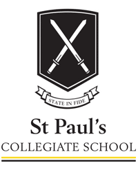 St Paul's Collegiate School crest